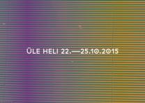 Festival ÜLE HELI (22 oct 2015)